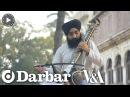 Indian classical music Sandeep Singh plays the Taus or Mayuri Veena