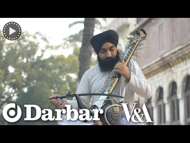 Indian classical music - Sandeep Singh plays the Taus or Mayuri Veena