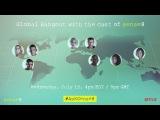 Sense8   Global Hangout with the Cast   Netflix