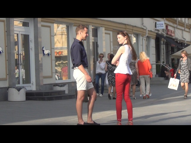 Пикап Знакомство с девушкой на улице №5 Забавный кусочек знакомства