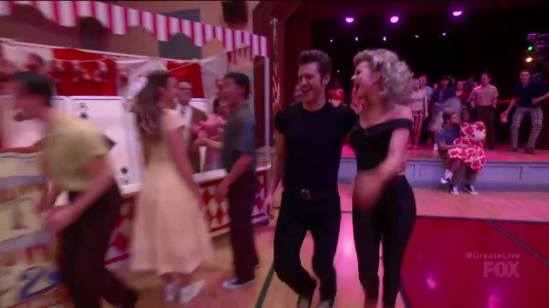 GREASE- LIVE - -You're The One That I Want- - FOX BROADCASTING