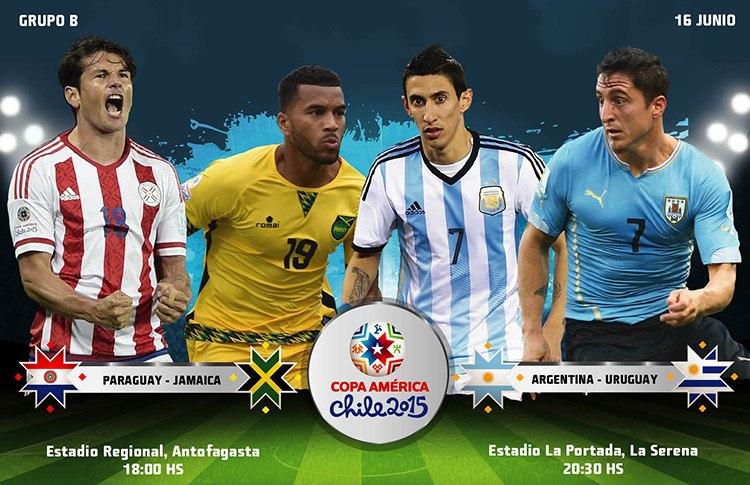 Постер к новости Злая Аргентина против победившего Уругвая, волевой Парагвай против неточной Ямайки
