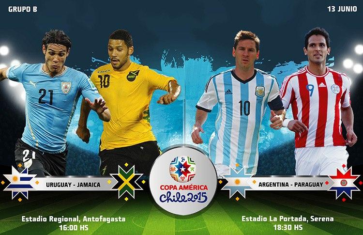 Постер к новости На Кубке Америки старт берёт