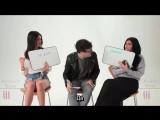 Русские субтитры | Кендалл и Кайли играют в 'Как хорошо ты знаешь сестру' на съёмках рекламной кампании 'Topshop' | 2015
