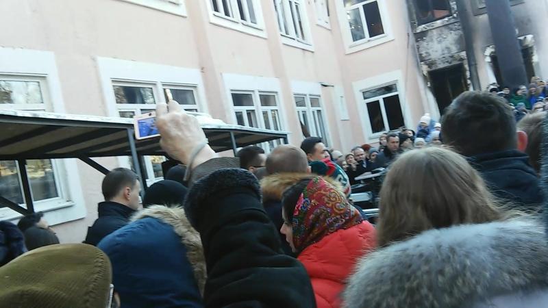 Губернатор А.Ю.Воробьев приехал 8.02.16 к МОМК им. С.С.Прокофьева. часть 1