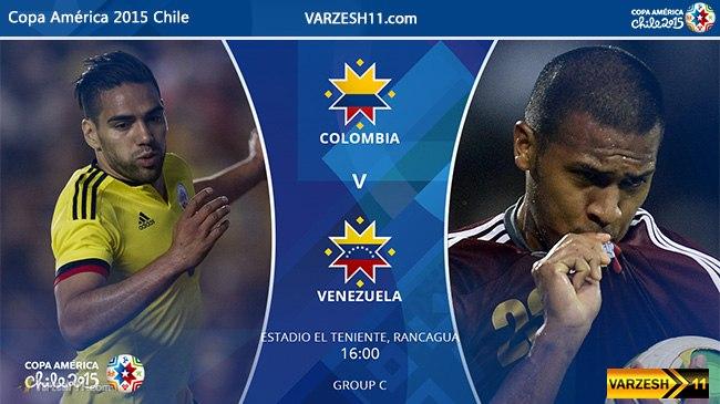 Постер к новости Колумбия - Венесуэла - превью.