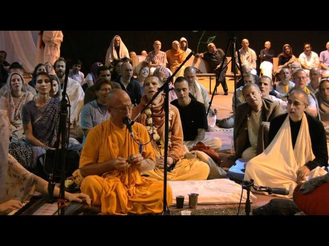 Kirtan Mela Nama Yagna with H.H. Bhakti Bringa Govinda Swami 31.08.2011 in Germany