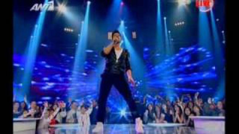 Sakis Rouvas live at the Final X-Factor (2) - Part 2