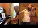 Morrowind Skyrim Тема для фортепиано скрипки Medley Taylor Davis и Лара