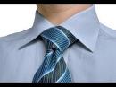 как завязывать галстук узлом Виндзор