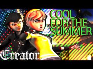 April/Karai - Cool For The Summer - TMNT 2012 [short mv] ♫