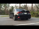 Invidia Exhaust comparison Lexus 2014 IS250