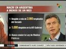 Argentina empleados de gobierno sufren despidos masivos
