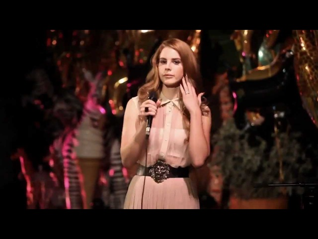 Lana Del Rey - Born To Die (Live at Poolside at Chateau Marmont)