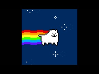Nyan Annoying Dog