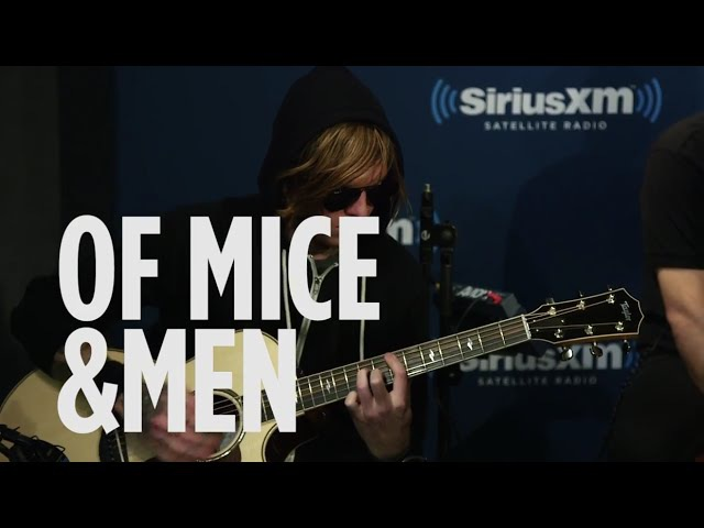 Of Mice Men Drive Incubus Cover Live @ SiriusXM Octane
