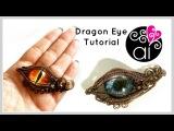 Dragon Eye Tutorial Wire Wrapping DIY Evil Eye Jewelry