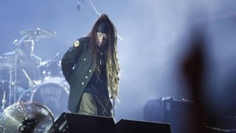 Ministry - N.W.O (with Burton C. Bell) - Live Rock In Rio 2015