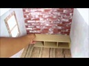 ЧАСТНЫЙ ДОМ Барби домик из картонной коробки Как сделать для кукол домик для ба