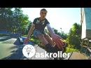 Askroller crew skatepark training тренировка роллеров в скейт-парке