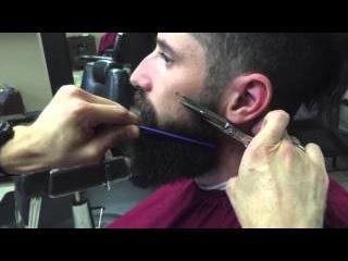 How to Trim, Groom And Style Your Beard! Как красиво подстричь бороду!