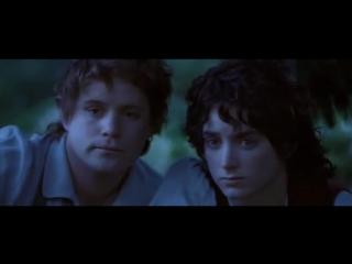 Властелин колец: Братство кольца - лесные эльфы (вырезанная сцена)