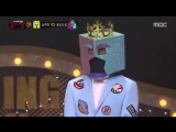 [Видео] 160131 Jun. K @ King of masked singer Ep. 44 1/2