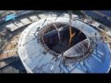 Эксклюзив «Зенит-ТВ»: экскурсия по строящемуся стадиону / Zenits new stadium under construction