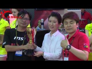 Computex 2016 - 5GHz World Record Award Ceremony G.SKILL