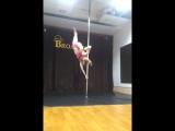 Наталья Андреева. Pole dance нск