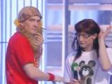 КВН МаксимуМ - Гузелька и Лена на уроке физкультуры