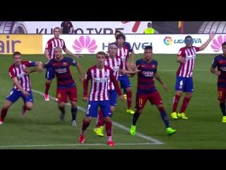 Обзор матча Атлетико 1:2 от официального канала Ла Лиги (12.09.2015)