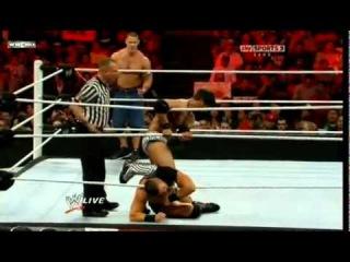 WWE NEWS`24: John Cena & The Miz vs. Justin Gabriel & Heath Slater Tag Team Championship.