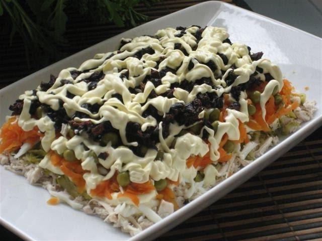 Салат Интриганка. Блюда для романтического ужина. Приятного Аппетита.