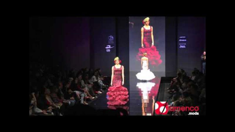 "Rosapeula Moda Flamenca Soy del Sur"" Simof 2016"