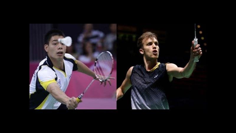 2015 Bitburger Open QF [MS] Hsu Jen Hao vs Marc Zwiebler