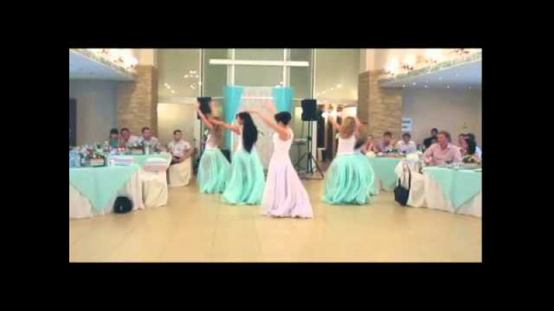 Танец подружек невесты и собственно невечты)