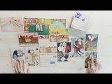 DohVinci Russia 3 видеоурок - необычная открытка из дерева | Курс мэйл-арта для DohVinci.ru