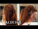 Как сделать прическу Тауриэль The Hobbit Hair Tutorial - Tauriel