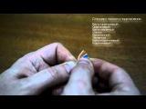 Как самостоятельно обжать кабель витую пару RJ45