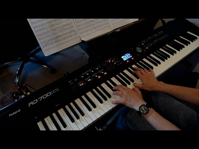Nine Inch Nails The Great Below piano cover HD