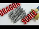 Плетение Драконья чешуя Кольчуга Как сделать кольчугу Урок 4