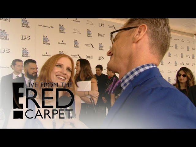 Jessica Chastain Gushes Over Chris Hemsworth | Live from the Red Carpet | E! News