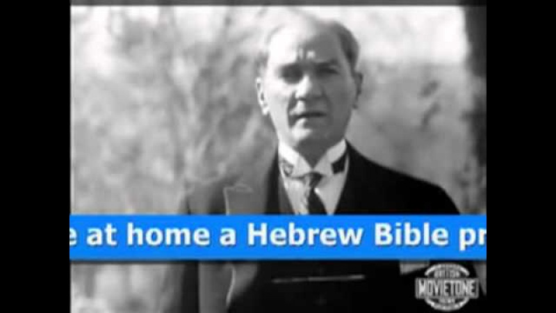 British Agent Mustafa Kemal Ataturk Admits He Is An Ethnic Jew