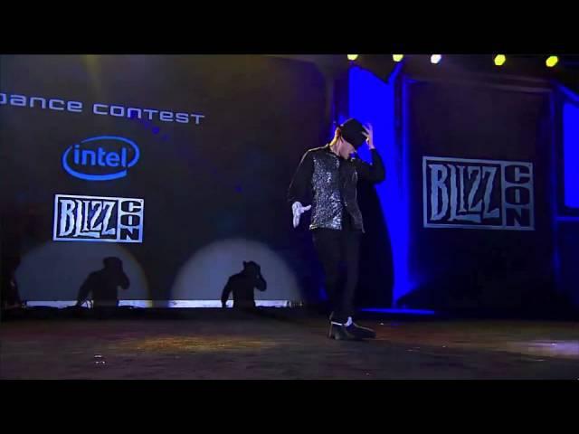 Blizzcon 2011 Dance Contest Night elf Male