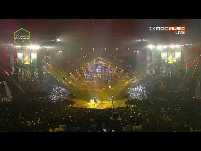 14.11.13 BTS - No More Dream Raise of Bangtan Nice to meet you at 2013 Melon Music Award