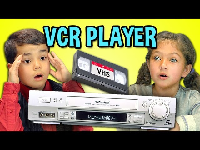 KIDS REACT TO VCRVHS