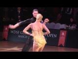 Miha Vodicar &amp Nadiya Bychkova  Samba  Gloria World Open 2015 Latin Adults Final