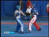 Областные соревнования по кикбоксингу среди детей начались в Саратове