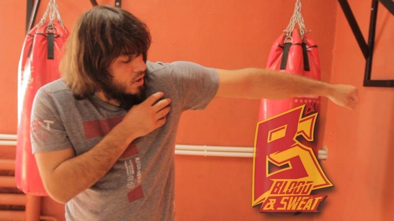 Левый прямой, варианты удара и наработка техники удара. Техника бокса.